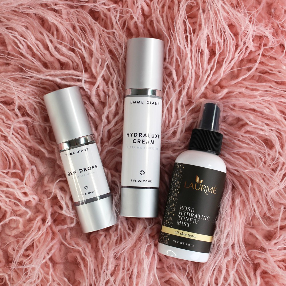Cruelty Free Skincare for Dry Skin - Emme Diane and Laurme