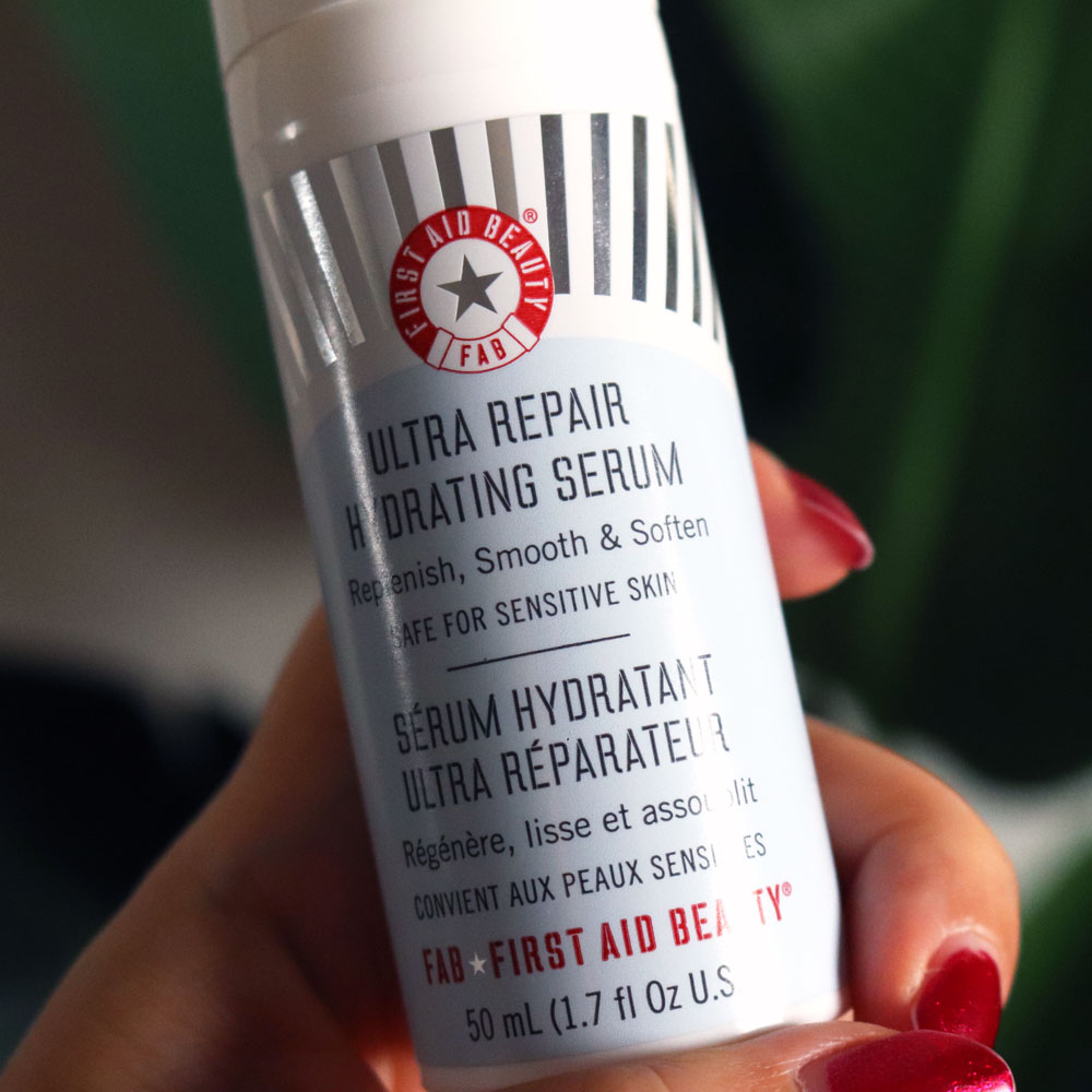 First Aid Beauty cruelty free hydrating serum