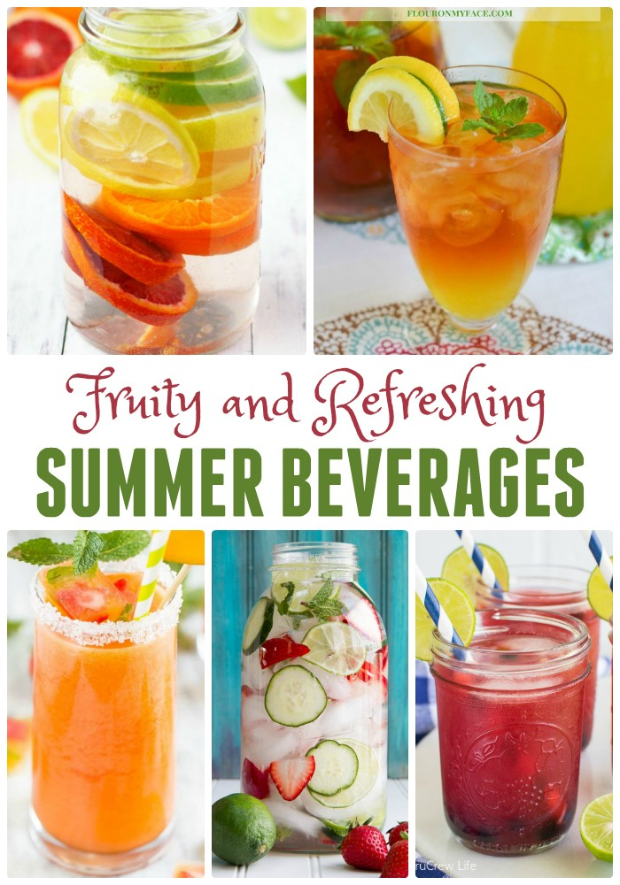 Fruity and Refreshing Summer Drink Ideas featured by popular Los Angeles lifestyle blogger My Beauty Bunny