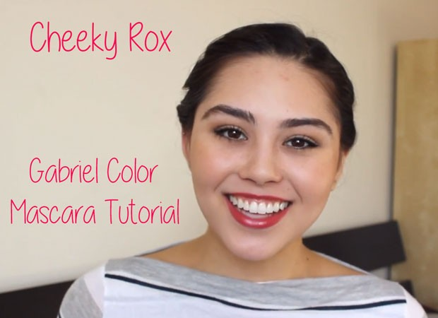 Cheeky Rox Gabriel Color Mascara Review