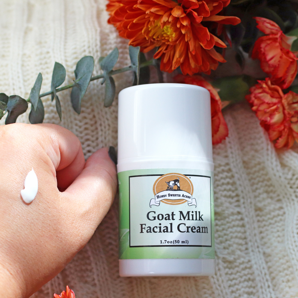 Honey Sweetie Acres Goat Milk Facial Cream review