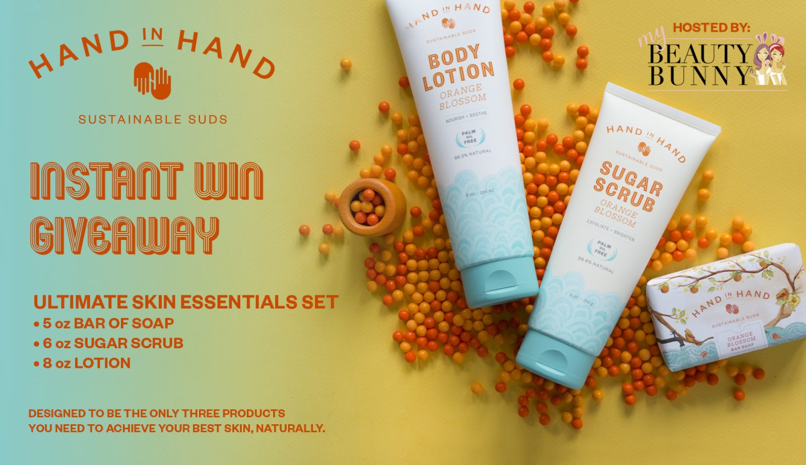 Hand in Hand -Instant Win Giveaway