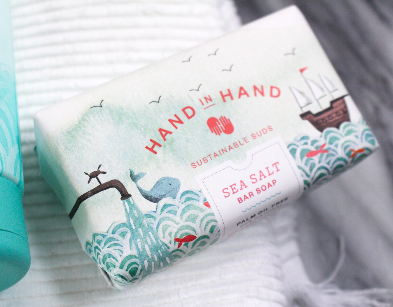 Hand in Hand Sea Salt Soap