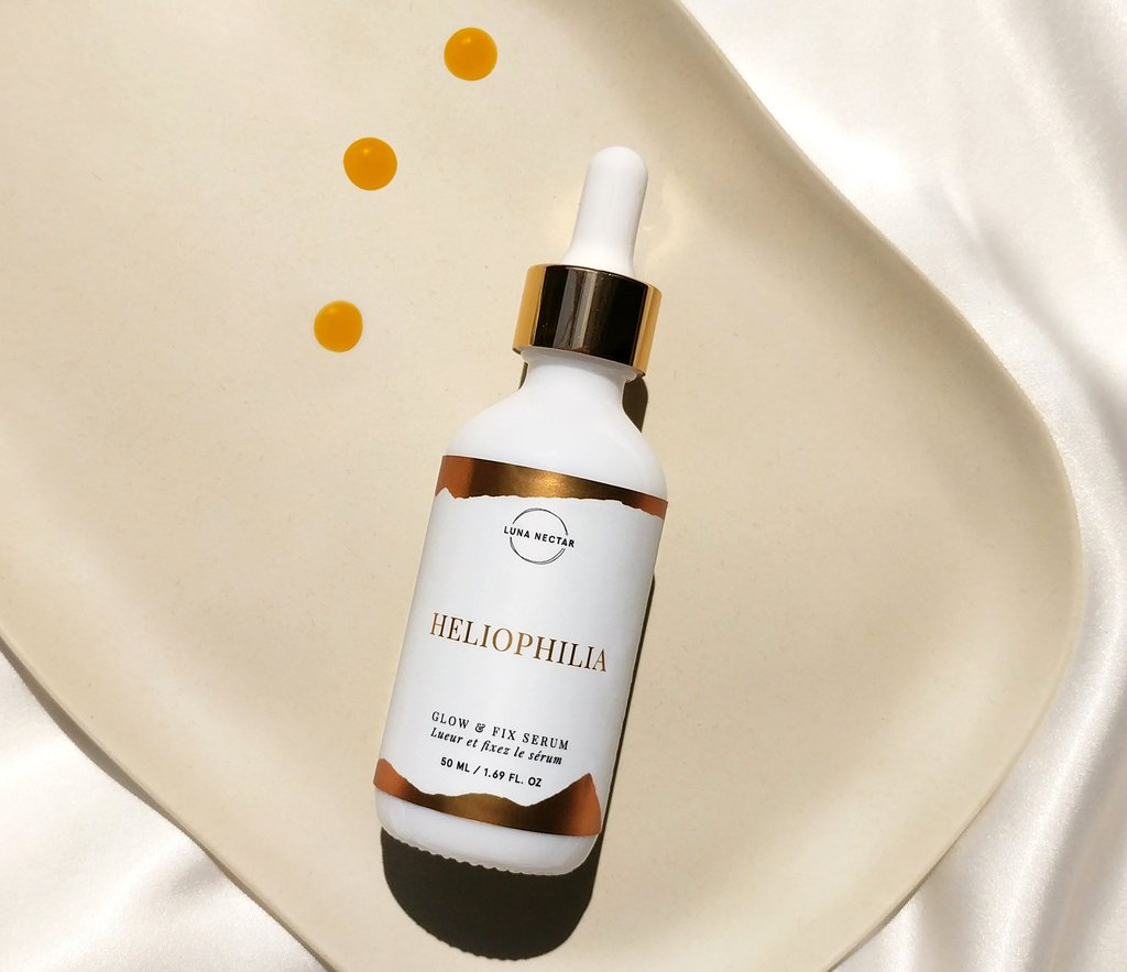 Luna Nectar Heliophilia Glow and Fix Serum Oil from Cynaglow Review