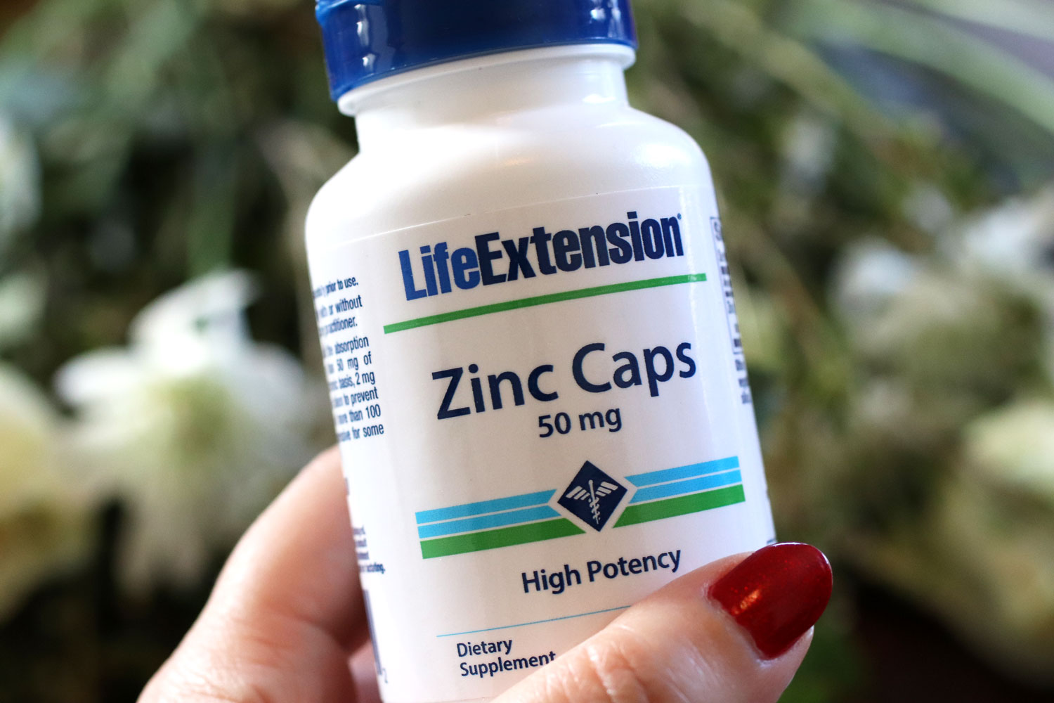 Life Extension zinc for immunity and clear skin