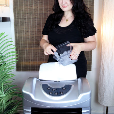 Los Angeles lifestyle blogger My Beauty Bunny reviews the Honeywell Indoor Evaporative Air Cooler