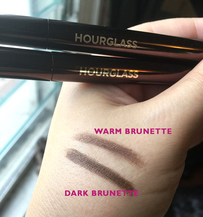 Hourglass Arch Brow Pencil Swatches