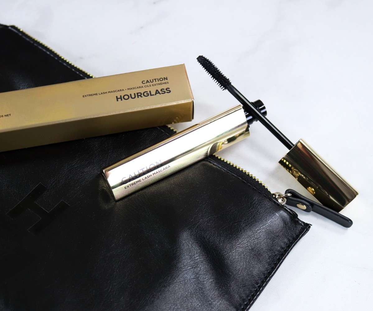 Hourglass Caution Extreme Lash Mascara Review - New Sephora Favorites from Urban Decay, Becca and Hourglass featured by popular Los Angeles cruelty free beauty blogger, My Beauty Bunny