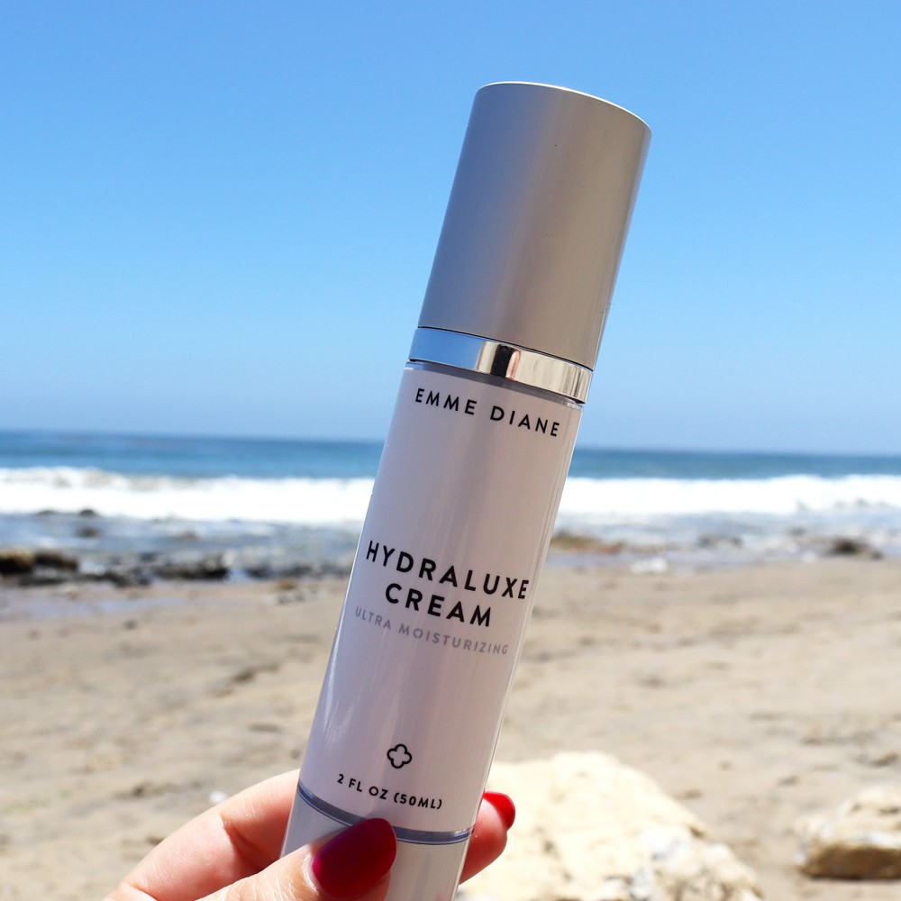 Emme Diane Acne Safe Hydraluxe Cream for Dehydrated or Dry Skin - 5 Summer Beauty Must Haves For Healthy Skin featured by popular Los Angeles cruelty free beauty blogger My Beauty Bunny