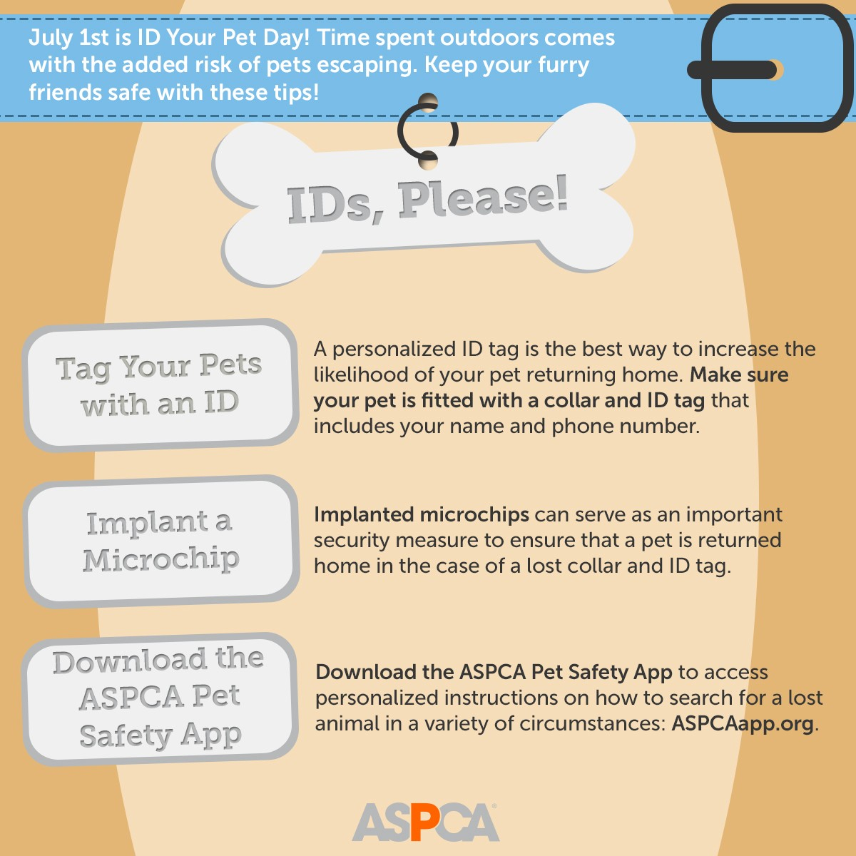 ASPCA ID Your Pet Day