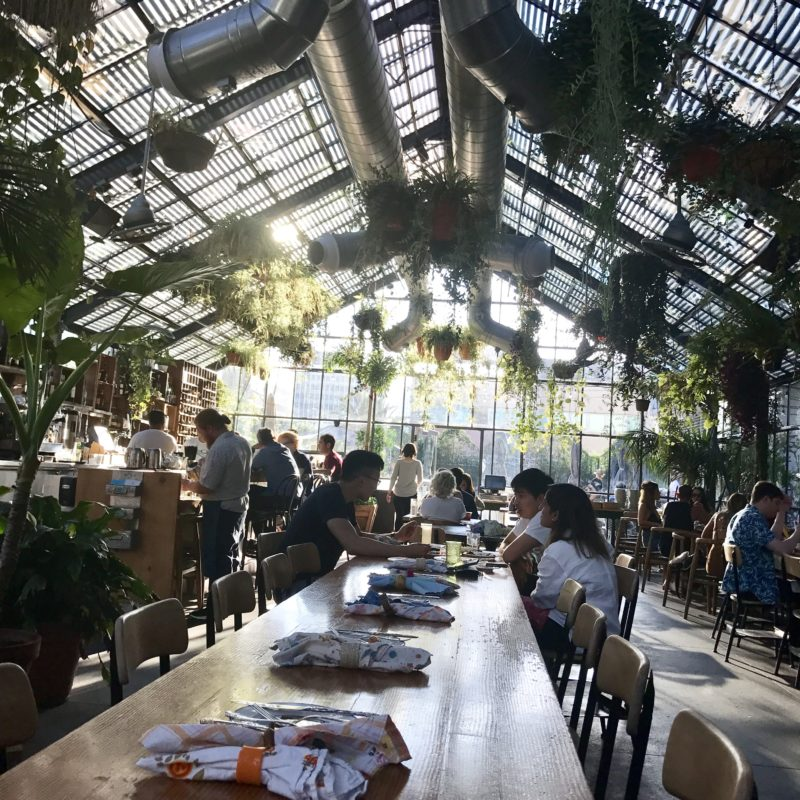 Top Instagram Friendly Spots in LA - The Commissary at the Line Hotel in Koreatown - Top Instagram Friendly Los Angeles Photo Spots featured by popular Los Angeles blogger My Beauty Bunny