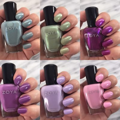 Spring Nails! Zoya Charming Collection