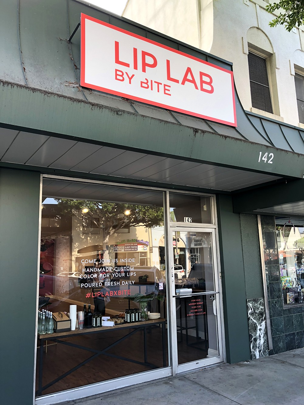 Create Your Own Cruelty Free Lipstick at Lip Lab By BITE | Sharing a Review and Experience featured by popular Los Angeles cruelty free beauty blogger My Beauty Bunny
