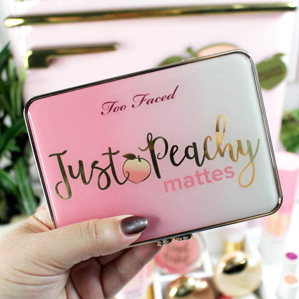 Too Faced Just Peachy Mattes Review and Giveaway