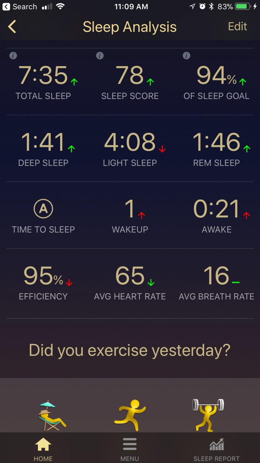 Sleep Tracker App by Tomorrow Sleep