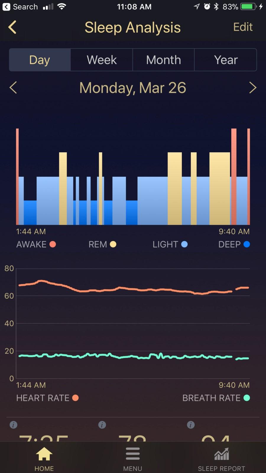 Sleep Tracker by Tomorrow Sleep
