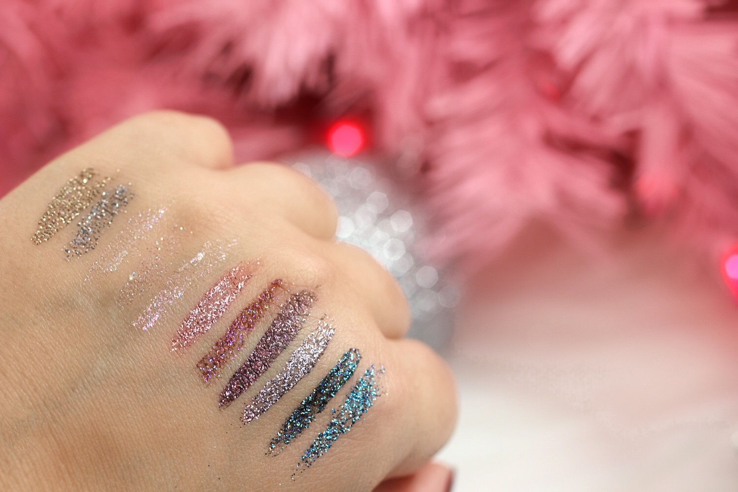 Urban Decay Heavy Metal Glitter Eyeliner Swatches