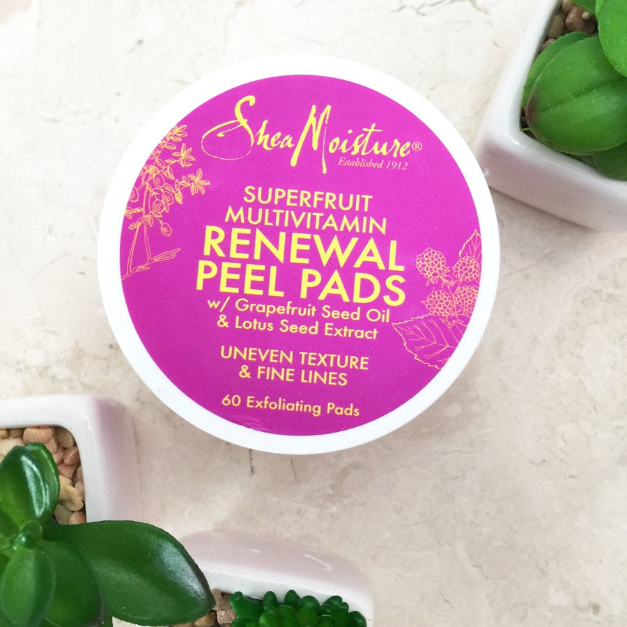 SheaMoisture Superfruit Complex Facial Line review by my beauty bunny
