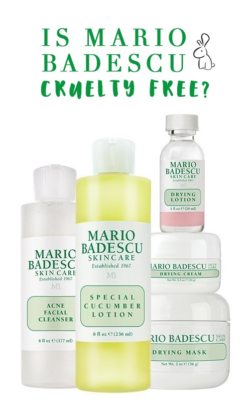 Is Mario Badescu Cruelty Free by popular Los Angeles cruelty free beauty blogger My Beauty Bunny