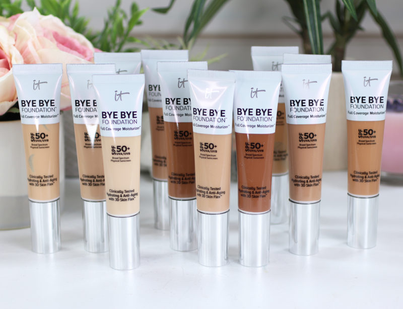 It Cosmetics Bye Bye Foundation Review and Swatches