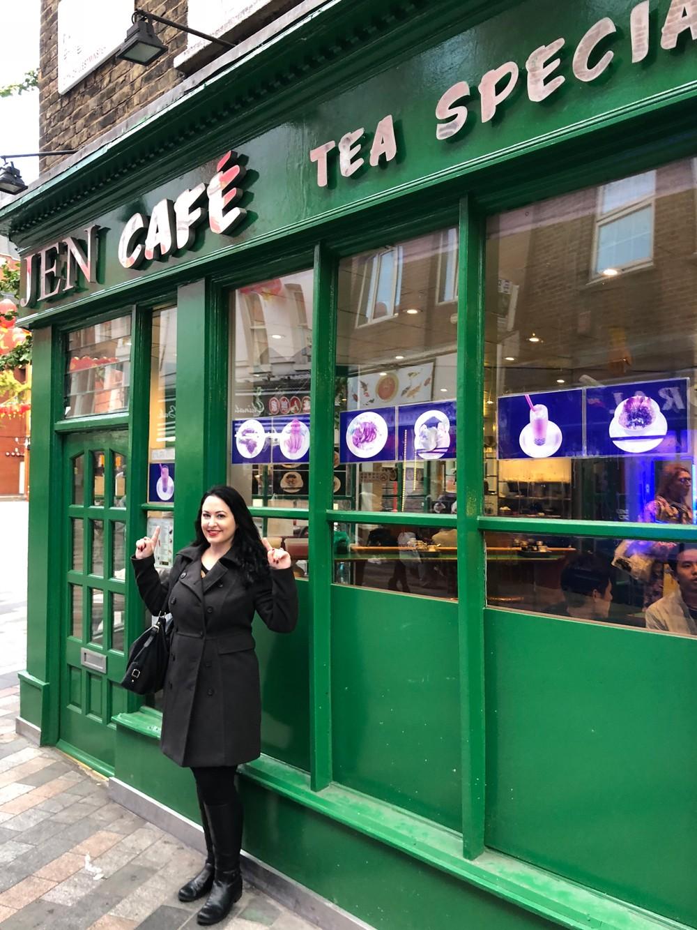 Jen Cafe - London Chinatown