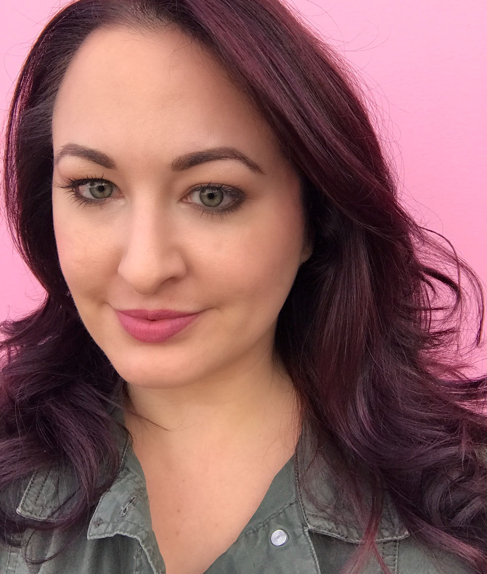 Aveda Purple Hair