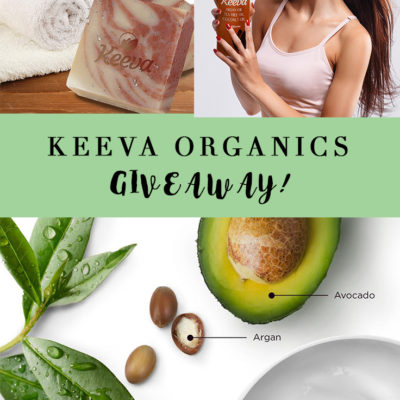 Keeva Organics Cruelty Free Natural Beauty Giveaway
