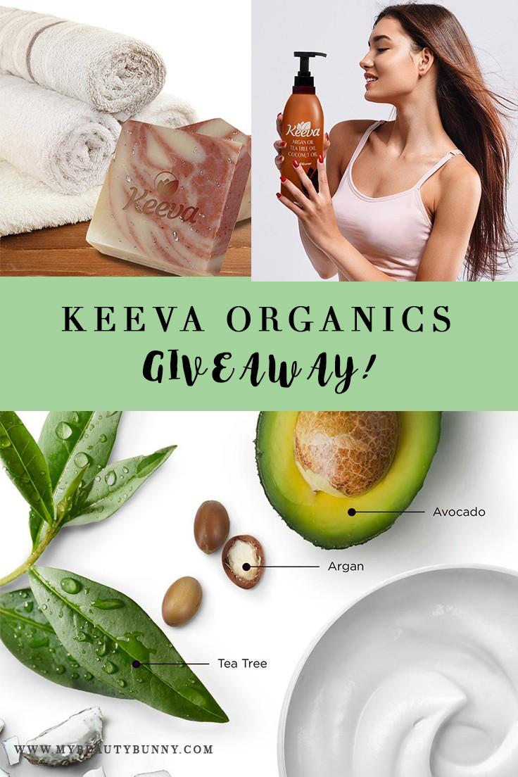 Keeva Organics Cruelty Free Beauty Giveaway