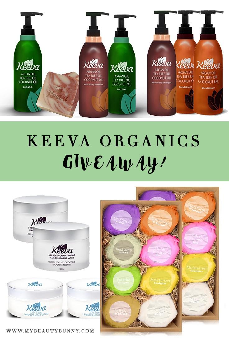 Keeva Organics Giveaway