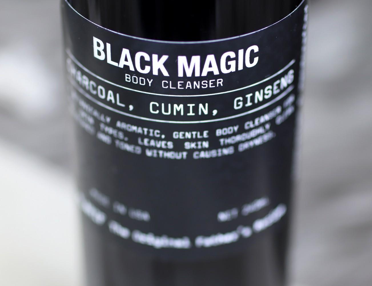 Klarif Black Magic Cruelty Free Body Wash - Klarif beauty products by popular Los Angeles cruelty free beauty blogger My Beauty Bunny