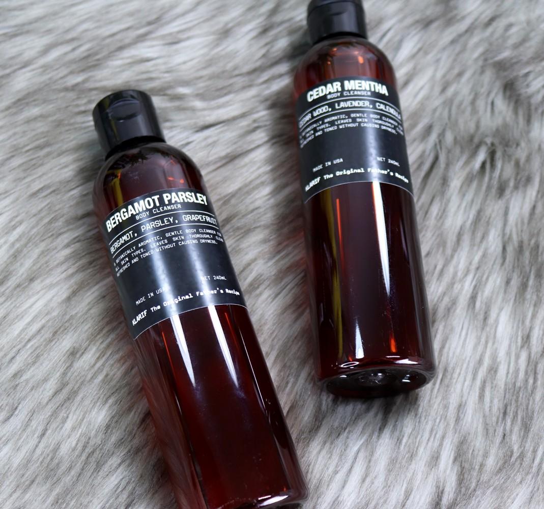 Klarif Body Cleanser - Bergamot Parsley Body Wash Review - Klarif beauty products by popular Los Angeles cruelty free beauty blogger My Beauty Bunny