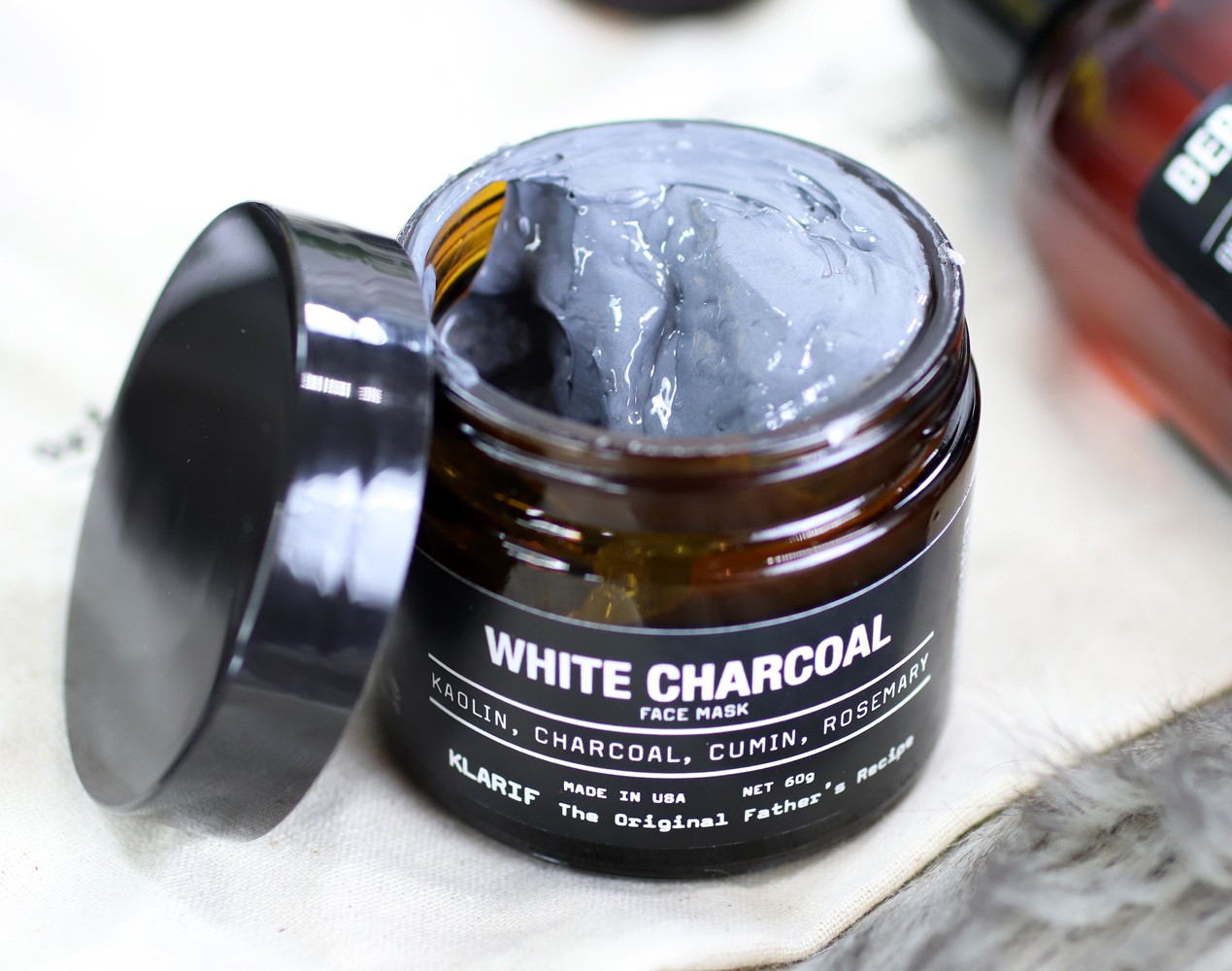 Klarif White Charcoal Face Mask Review - Klarif beauty products by popular Los Angeles cruelty free beauty blogger My Beauty Bunny