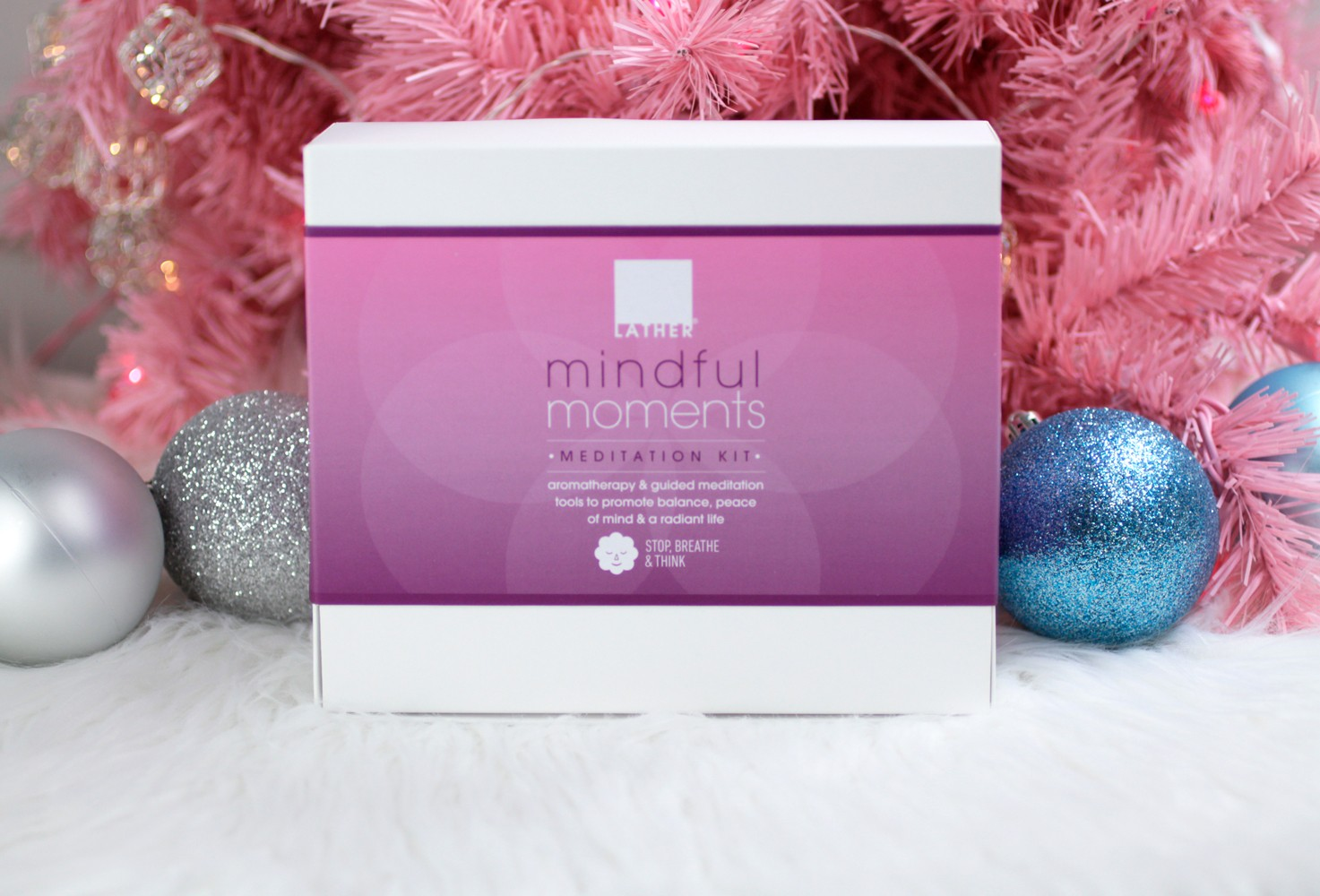 LATHER Mindful Moments Cruelty Free Meditation Gift Set