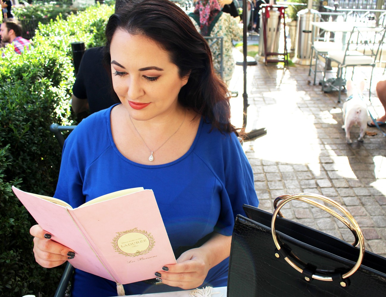 Date at Laduree at the Grove Los Angeles