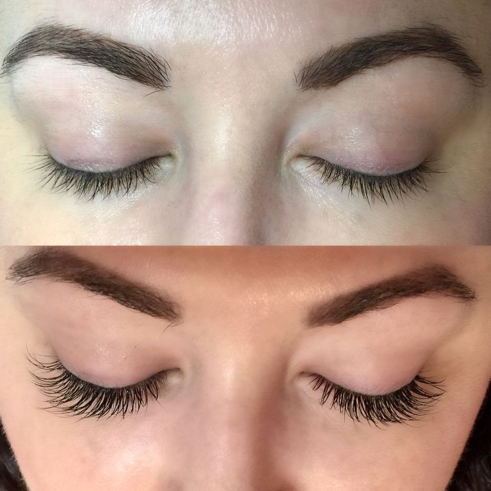 Lash Extensions Before and After - Caring for Eyelash Extensions by popular LA cruelty free beauty blogger My Beauty Bunny
