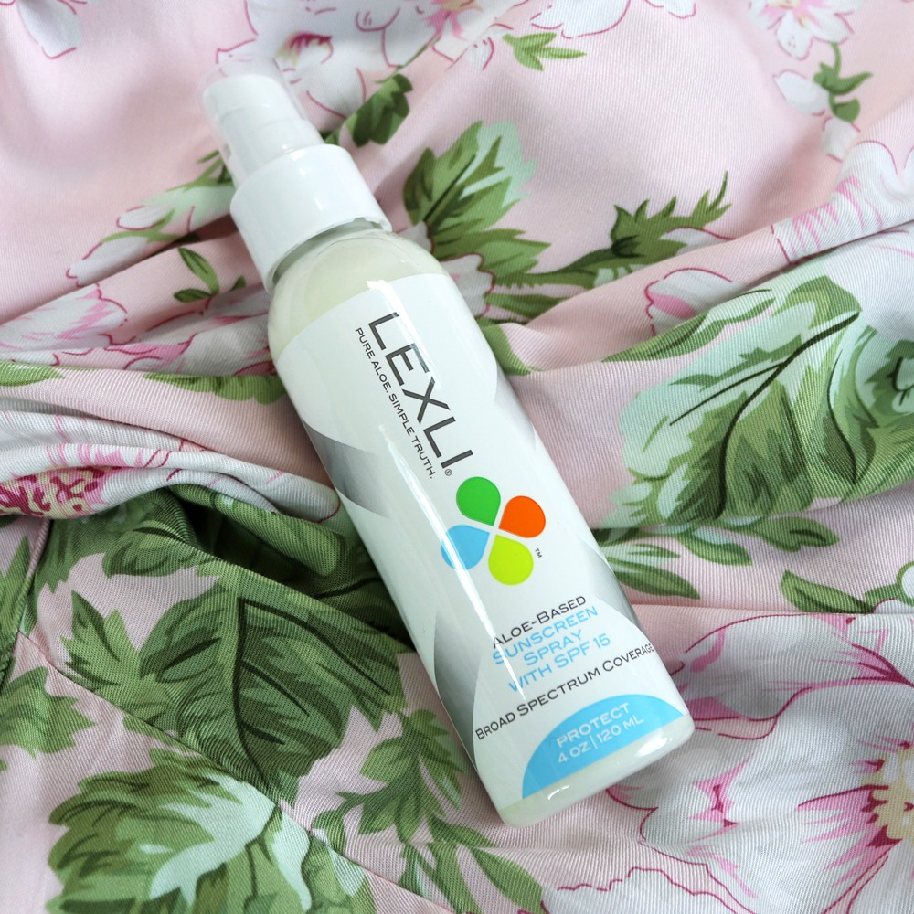 Lexli Sunscreen Spray Review| Lexli - Cruelty Free Skincare for Acne and Anti-Aging featured by popular Los Angeles cruelty free beauty blogger, My Beauty Bunny