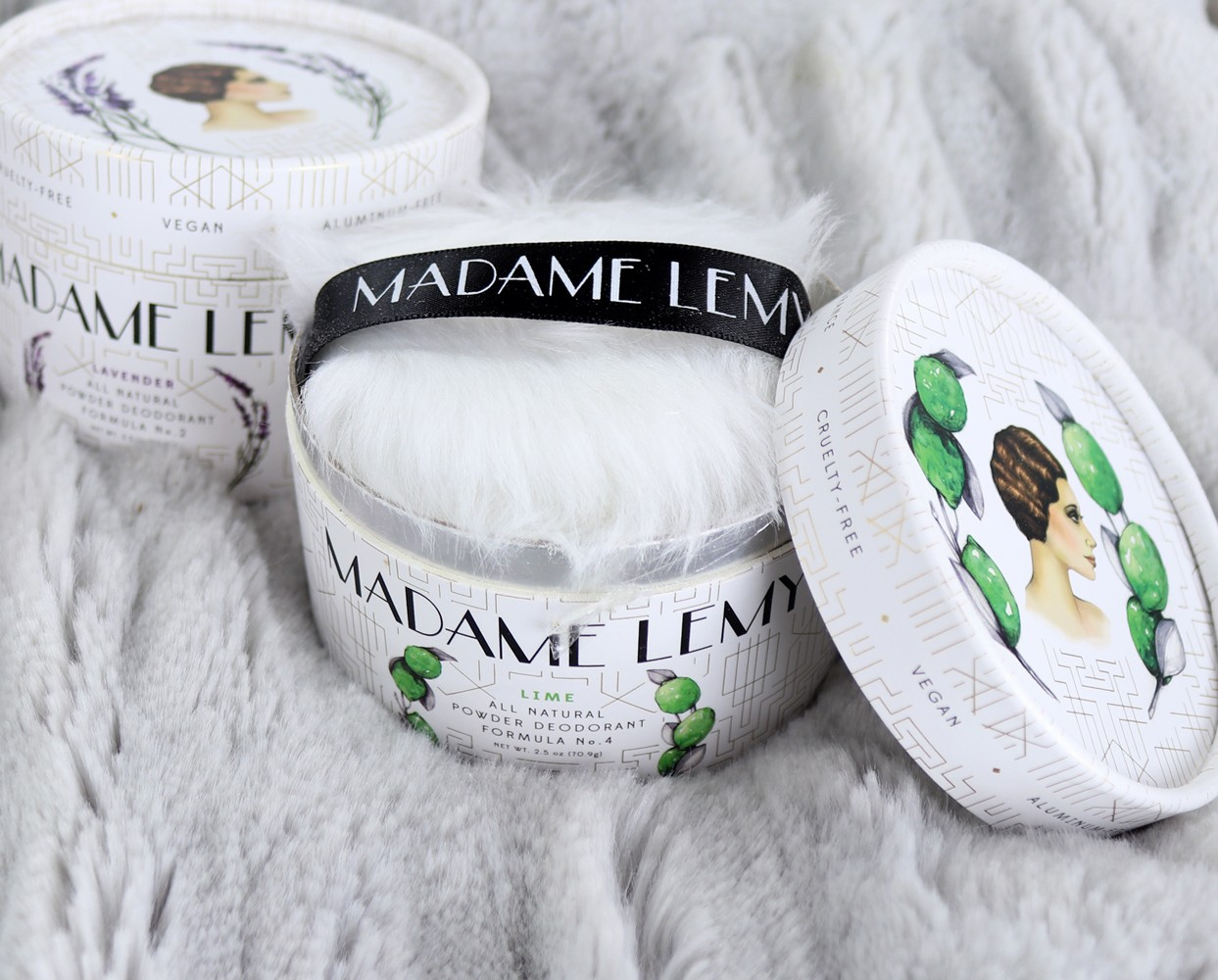 Madame Lemy Natural Deodorant Cruelty Free and Vegan - Cruelty Free Favorites for March by popular Los Angeles cruelty free beauty blogger My Beauty Bunny