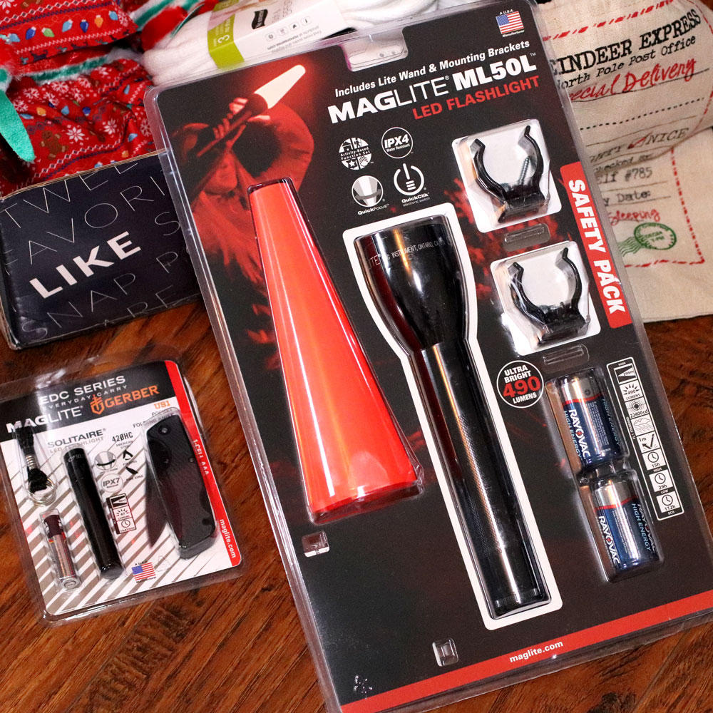 Holiday Gift Guide for the Whole Family 2019 - Maglilght flashlight gift sets