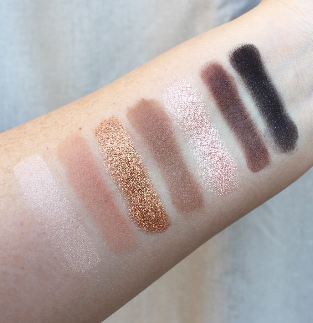 Marc Jacobs Beauty Eye Conic Eyeshadow Palette Glambition Palette Swatches