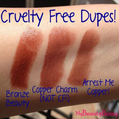Cruelty Free Dupes for Maybelline Lipstick