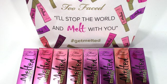 Too Faced Melted Metal Lipsticks