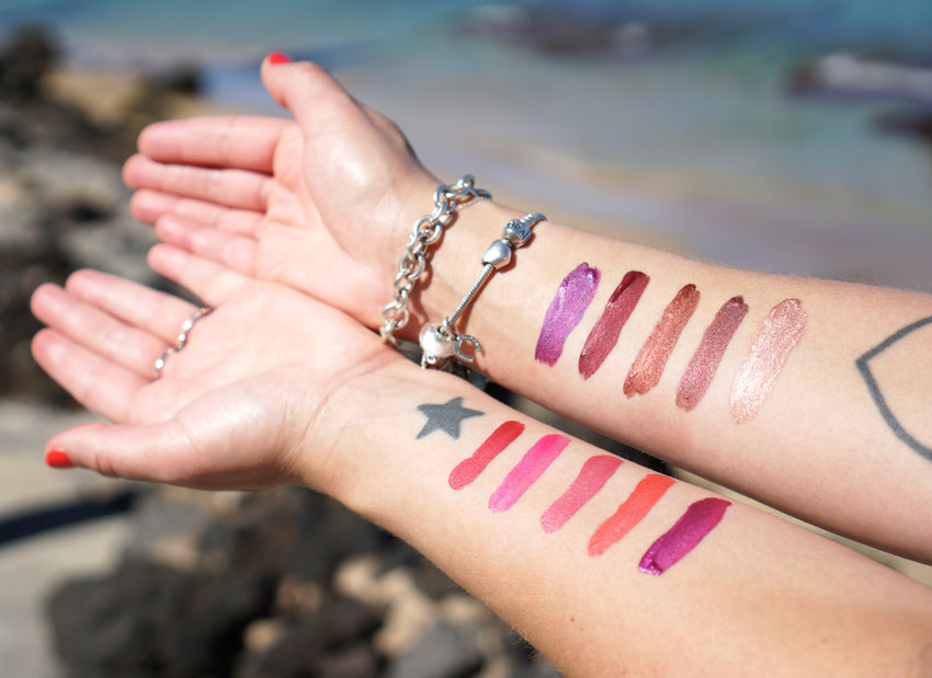 Milani Lip Creme Swatches