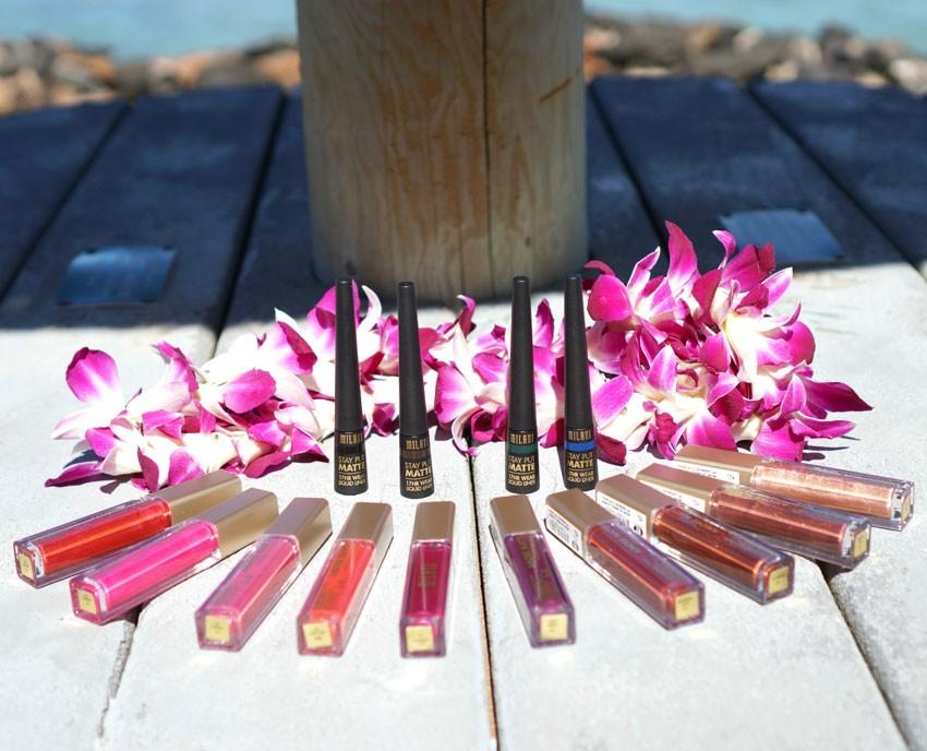 Milani Metallic Lipstick and Liquid Liners