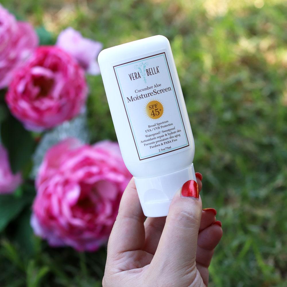 Verabella MoistureScreen SPF 45- cruelty free sunscreen