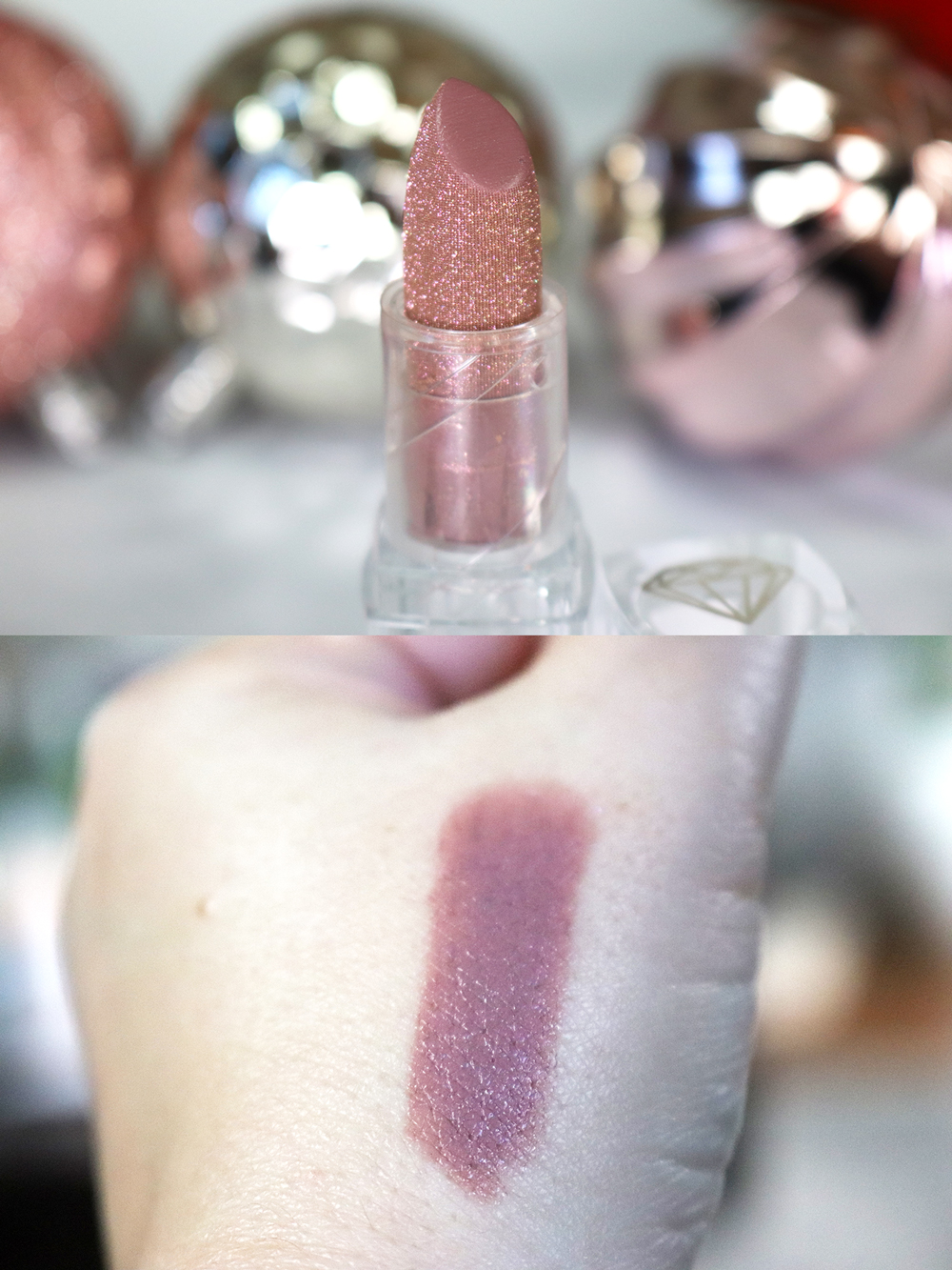 Cruelty Free Holiday Gift Guide 2020 - NYX Diamonds and Ice Please Shout Loud lipstick in Royal Clapback