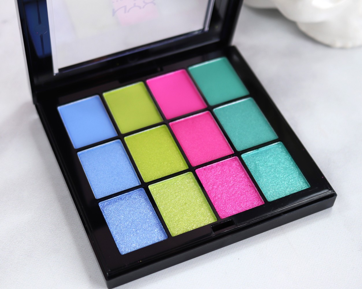 NYX Ultimate Electric Palette - Coachella Music Festival Makeup Ideas by Cruelty Free Beauty Blogger My Beauty Bunny