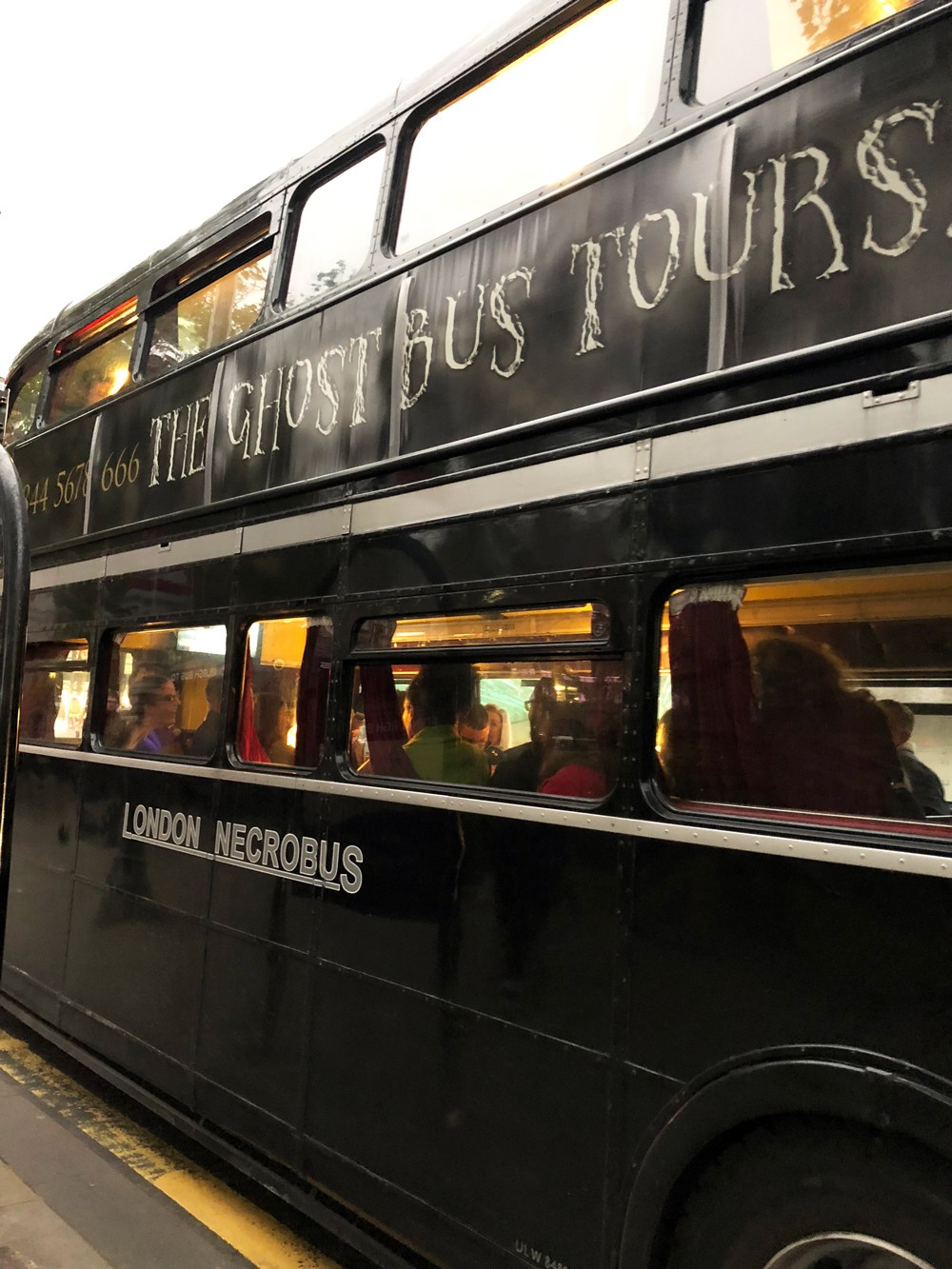 Necrobus Ghost Bus Tours in Edinburgh Scotland