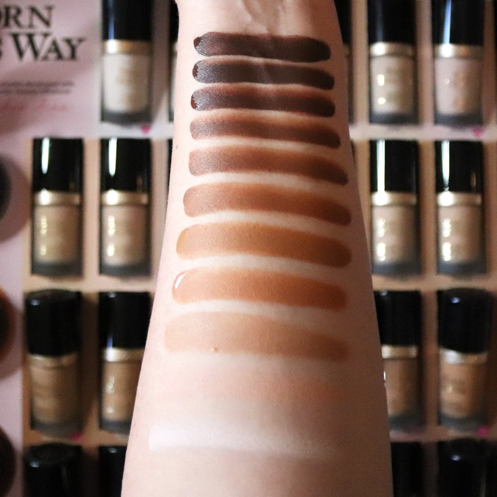 New Too Faced Born This Way Foundation Shades Collaboration with Jackie Aina featured by popular Los Angeles cruelty free beauty blogger, My Beauty Bunny