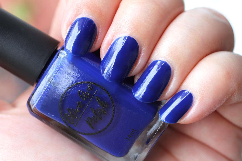 Teddy deep royal blue nail polish by Olive Ave