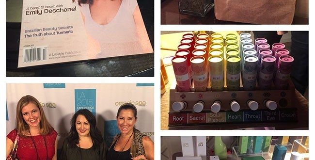 Organic Spa Magazine Event 2015